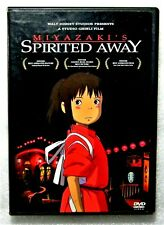 Rare Like New Spirited Away 2001 2-Dvd Set Disney Hayao Miyazaki Studio Ghibli