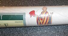 Vintage Papiertapete 1 Rolle Motiv Tim & Struppi von 1992 Hergé