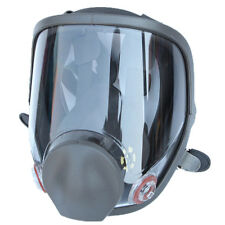 Large View Full Face Gas Mask For 6800 Facepiece Respirator Painting Spraying