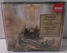 CDS 7 47962 8 Mahler Symphony No.2 City Of Birmingham Sym Orch Simon Rattle 2CD