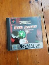 Red Alert PS1 Playstation One Complete in Box
