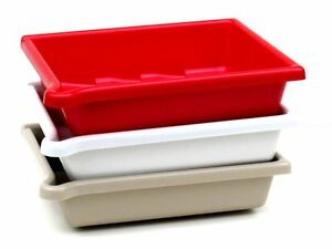 8x10 Set of 3 Developing Dishes / Trays