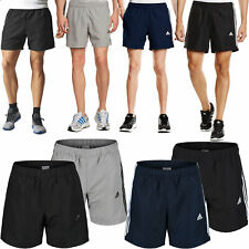 Mens Adidas Essential Shorts 3 Stripe Chelsea Training Gym Climalite Pants