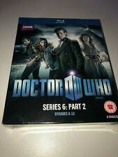 DOCTOR WHO SERIES 6: PART 2  BLU-RAY SET - NEW SEALED