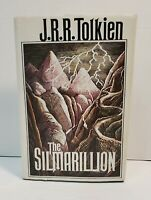 Tolkien, J.R.R. THE SILMARILLION 1st Edition 1st Printing W/ Original Map Intact