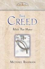 Foundations of Faith: The Creed by Michael Bauman (2002, Hardcover)