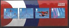 Gran Bretaña 2018 Royal Aviación Flechas Rojas Miniatura Hoja Sin Código de