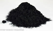 WWS 2mm Black Flock - Static Grass - Scatter - Arts and Crafts 100g