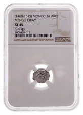 MONGOLIA, Crimean Taters. Mengli I Giray, 1468-1515, Silver Akce, NGC XF45