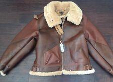 Eastman Leather Jacket Horsehide Shearling Type B-3 Rough Wear 17756  SZ 44