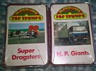 TWO  PACK  OF  SUPER MINI  TOP TRUMPS,  SUPER DRAGSTERS  H.P. GIANTS