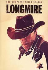 Longmire Complete Third Season 3 (DVD, 2015, 2-Disc Set) Three