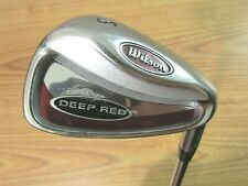 WILSON DEEP RED SAND WEDGE STEEL SHAFT