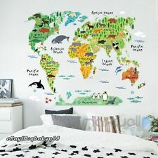 Safari Nursery Removable Wall Stickers