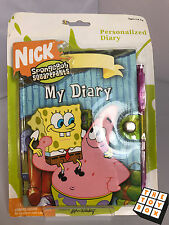SpongeBob SquarePants Personalized Diary in Packet