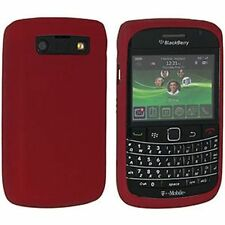Genuine Blackberry Bold (9700) piel de silicona: Roja