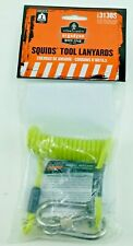 New Squids 3130S Coiled Cable Lanyard Lime Small 2lbs Ergodyne Free Shipping
