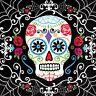 36pk Day Of The Dead Napkins 36 Pack 33cm Sugar Skull Halloween Tableware