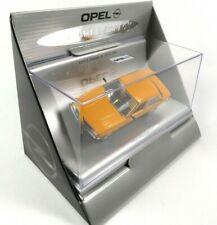 Opel Ascona B 4 portes 1/43 Schuco Dealer Pack Voiture Diecast Model Car OP13