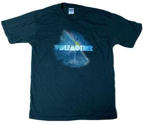 Vintage WOLFMOTHER Band 2006 Tour Large T-Shirt Rock Blues Metal Aussie