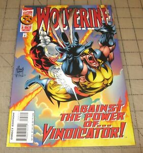 WOLVERINE #95 (Nov 1995) VF+ Condition Comic - Vindicator, Alpha Flight - Kubert