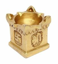 Pooja Brass Tulsi Plant Oil Lamp for Pooja, Ideal Home Decor Gift