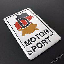 Metal Germany Map Motor Sport Emblem Car Auto Trunk Lid Rear Badge Decal Sticker