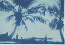 Madagascar, Scènes et types, cca. 1895 Vintage print. cyanotype  12x17  Ci