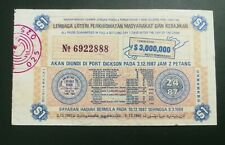 (RM) 1988  Lottery drawn in Port Dickson