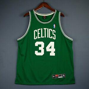 100% Authentic Paul Pierce Vintage Nike Celtics Jersey Size XL 2XL 52 Mens
