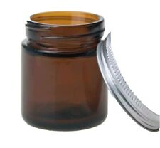 1 x 120 ml Amber glass jar with lid