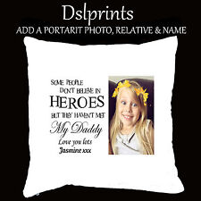 Personalised Cushion Pillow Case Cover Name Home Decor Gift Mummy Daddy Keepsake