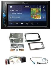 Pioneer 2DIN MP3 USB AUX Autoradio für Alfa Romeo Mito ISO 955 08-14 silber
