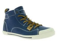 YELLOW CAB - leren halfhoge sneakers Foxy blue - maat 39