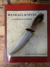 Randall Knife Reference Book First Edition Signed S. Wickersham