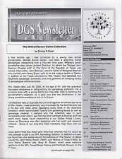 Lot of 20 DGS Dallas Genealogical Newsletter 2007 - 2009