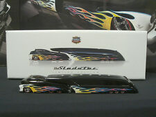 Black with Flames Sledster Series #1 Drag Bus Evo