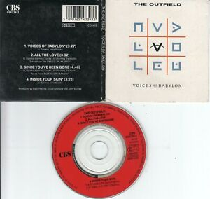 The Outfield  CD-SINGLE  VOICES OF BABYLON  (  3inch )