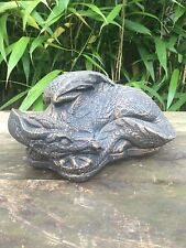 SALE! Sleeping Dragon Garden Ornament Latex Mould/Mold  (MYTHICAL2L)