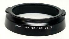 Minolta Lens Shade 58mm dia. Hood clip-in A  28-85mm / 3.5-4.5 Genuine EXC!