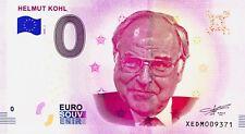 BILLET 0 ZERO EURO SCHEIN SOUVENIR HELMUT KOHL 2018-1