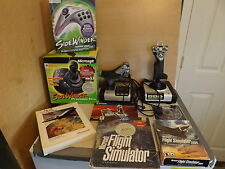 Saitek X52 Flight Control System Microsoft Flugsimulator Side Winder Lot