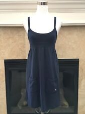 Abercrombie & Fitch navy fleece romper dress XS NWT $59.50