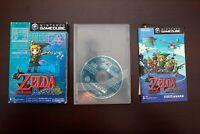 Nintendo GameCube Legend of Zelda The Wind Waker (Takt of Wind) Japan NGC Game