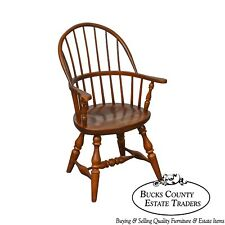 Frederick Duckloe & Bros Windsor Style Childs Diminutive Size Arm Chair