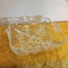 Vintage Square Pickles/Nibbles Dish (253)