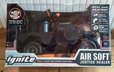 New Listing2011 Ignite R/C Justice Dealer Military Vehicle (New Old Stock) ~ Air Soft