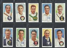 PLAYER - CRICKETERS 1938 - FULL SET OF 50 CARDS