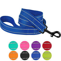 Reflective Nylon Dog Lead Training Leash for Small Medium Large Dogs Pet Walking