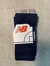 New Balance Navy Blue Baseball Socks (Size Large) NWT
